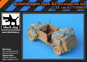 Black Dog Kübelwagen Type 82 - Accessories Set