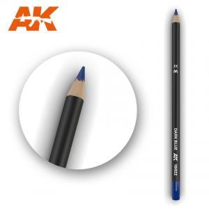 AK Interactive Watercolor Pencil Dark Blue