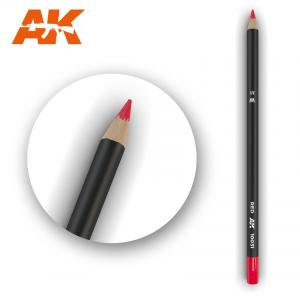 AK Interactive Watercolor Pencil Red