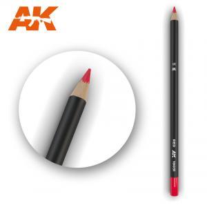 AK Interactive Watercolor Pencil Red