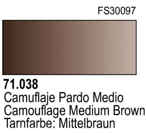 Vallejo Model Air 038 - Camouflage Medium Brown