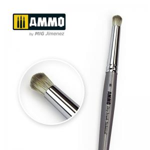 Ammo Mig Jimenez 8 AMMO Drybrush Technical Brush