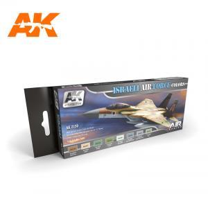 AK Interactive ISRAELI AIR FORCE COLORS