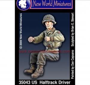New World Miniatures Half Track USA driver