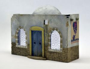 Reality in Scale North African House - 7 resin pieces, 1 decal & printed windows