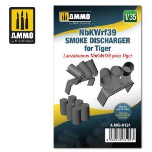 Ammo Mig Jimenez NbKWrf39 Smoke Discharger for Tiger