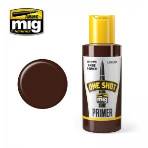 Ammo Mig Jimenez One Shot Primer – Brown Oxide, 60ml