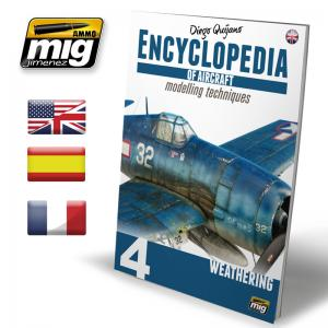 Ammo Mig Jimenez Encyclopedia of Aircraft Modelling Techniques vol 4: Weathering
