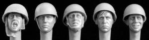 Hornet Models 5 Heads UK rimless Helmets