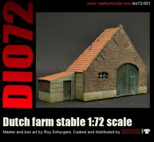 Reality in Scale Dutch Farm Stable