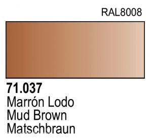 Vallejo Model Air 037 - Mud Brown