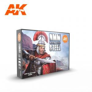 AK Interactive NON METALLIC METAL: STEEL