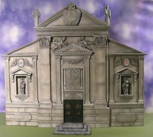 Reality in Scale Late Renaissance Church Facade - 17 resin pcs. & 2 decals
