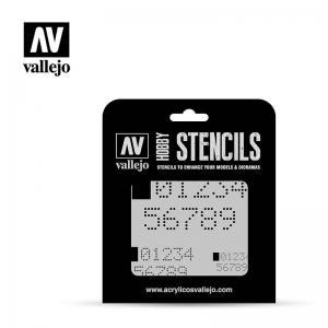 Vallejo Digital Numbers