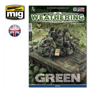Ammo Mig Jimenez The Weathering Magazine Issue 29: GREEN