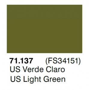 Vallejo Model Air 137 - US Light Green FS 34151