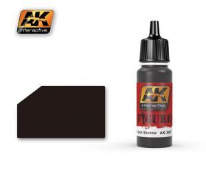 AK Interactive BLACK RUBBER / BLACK UNIFORM DARK SHADOW