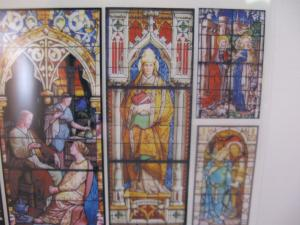 Reality in Scale Religious Stained Glass Windows