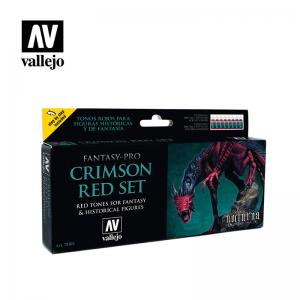 Vallejo Game Color - Crimson Red Paint Set