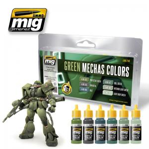 Ammo Mig Jimenez Green Mechas Colors