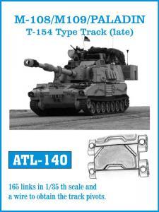 "Friulmodel M-108/M-109/Paladin T-154 ""Late"" Type Track - Track Links"