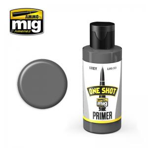 Ammo Mig Jimenez One Shot Primer – Grey, 60ml
