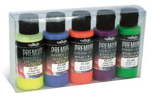 Vallejo FLUOS COLORS SET 5x60 ml
