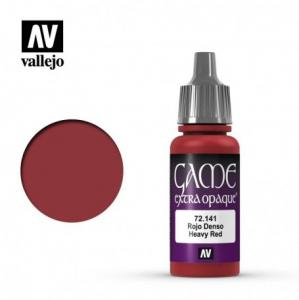Vallejo Game Color - Heavy Red (Extra Opaque)