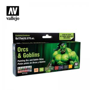 Vallejo Game Color - Orcs & Goblins Paint Set