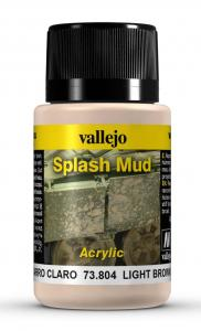 Vallejo Light Brown Splash Mud 40 ml
