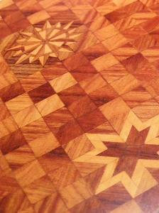 Reality in Scale Parquet Flooring design C Sheet A5