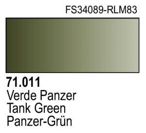 Vallejo Model Air 011 - Dark Green RLM83
