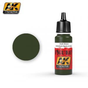 AK Interactive DARK GREEN / M-44 DARK SPOTS & DOSTS