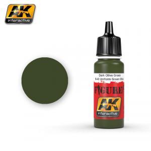 AK Interactive BRONZE GREEN / SPLITTERMUSTER GREEN SPOTS