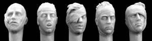 Hornet Models 5 Heads Bandaged