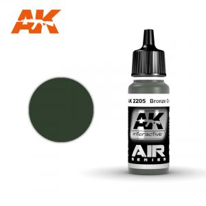 AK Interactive Bronze Green 17ml