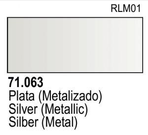 Vallejo Model Air 063 - Silver