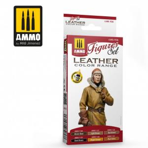 Ammo Mig Jimenez Leather Figures Set