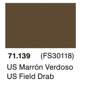 Vallejo Model Air 139 - US Field Drab FS 30118