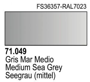 Vallejo Model Air 049 - Medium Sea Grey