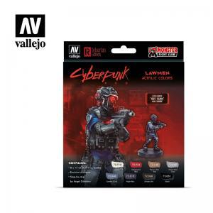 Vallejo Lawmen by Cyberpunk Red
