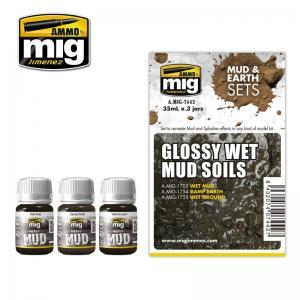 Ammo Mig Jimenez Glossy Wet Mud Soils