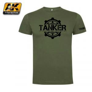 "AK Interactive Tanker T-shirt size ""M"" Limited edition"
