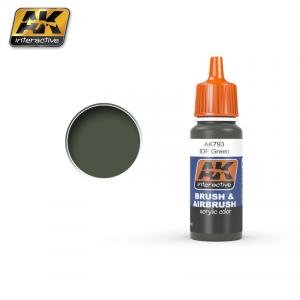 AK Interactive IDF Green 17ml