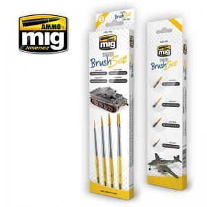 Ammo Mig Jimenez Starter Brush Set