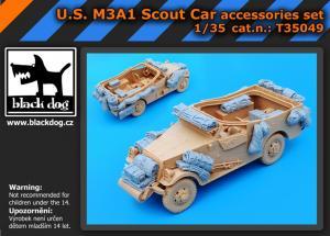 Black Dog M3A1 Scout Car - Accessories Set (HBB)
