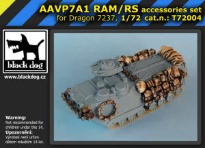 Black Dog AAVP7A1 RAM/RS - Accessories Set (DRA)