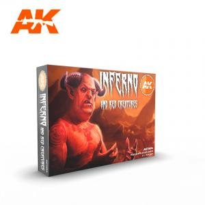 AK Interactive INFERNO AND RED CREATURES