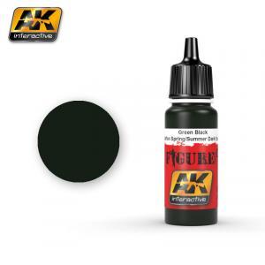 AK Interactive GREEN BLACK WAFFEN SPRING / SUMMER DARK SPOTS