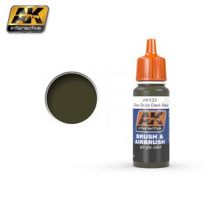 AK Interactive OLIVE DRAB DARK BASE 17 ml